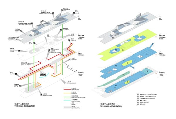 16-terminal exploded axonometric