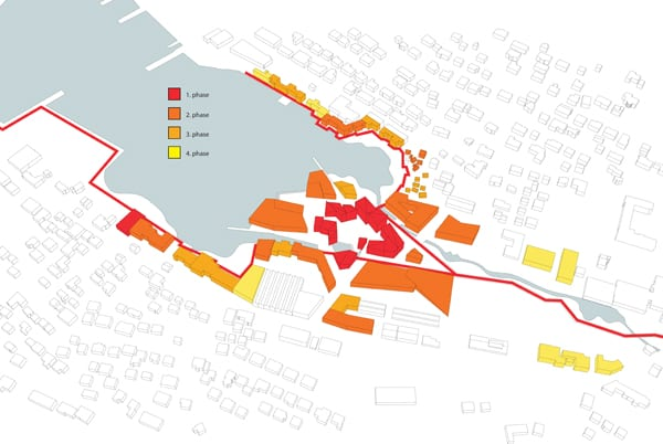 klaksvik city centre phases