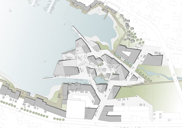 klaksvik city centre plan 500