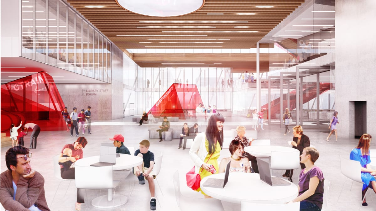 upper concourse