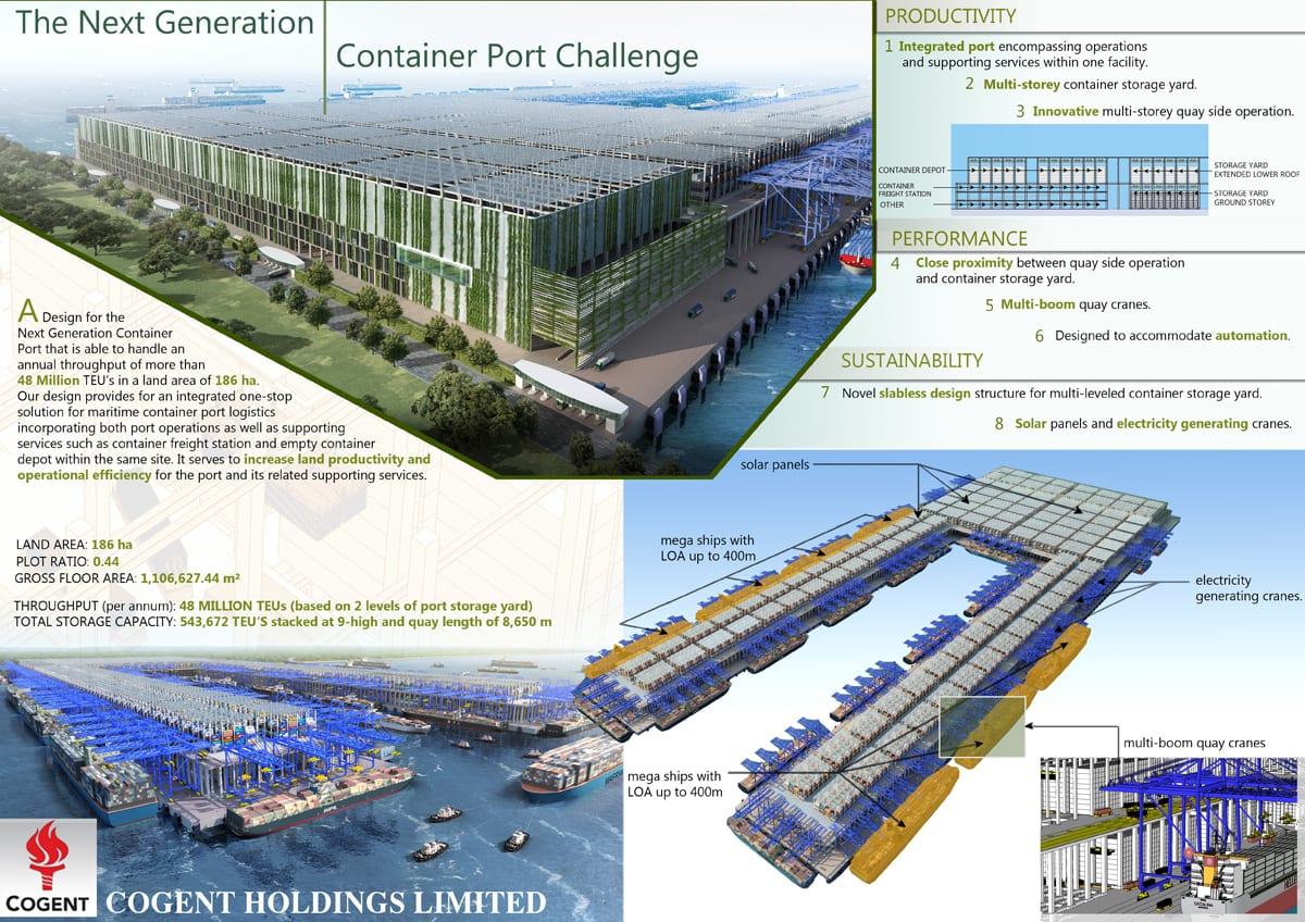 port container challenge a1- cogent holdings limited - ac consortium pte ltd