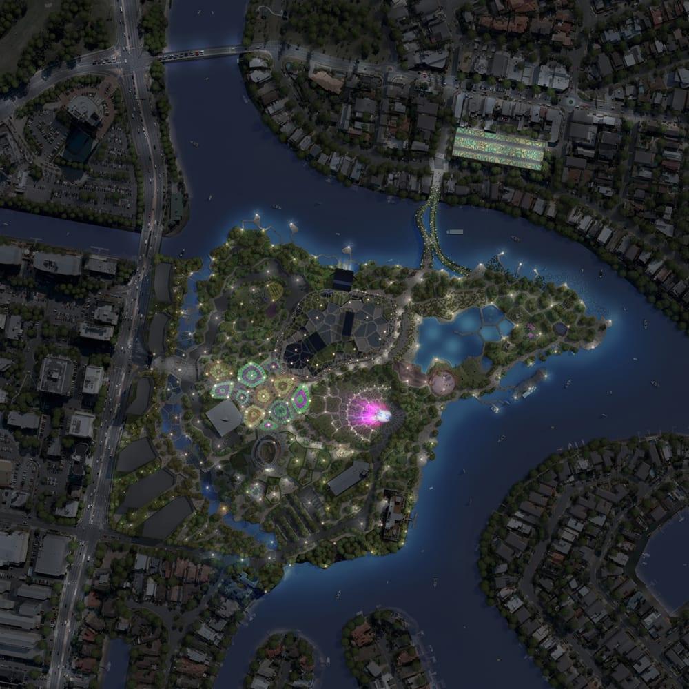 arm site lighting plan