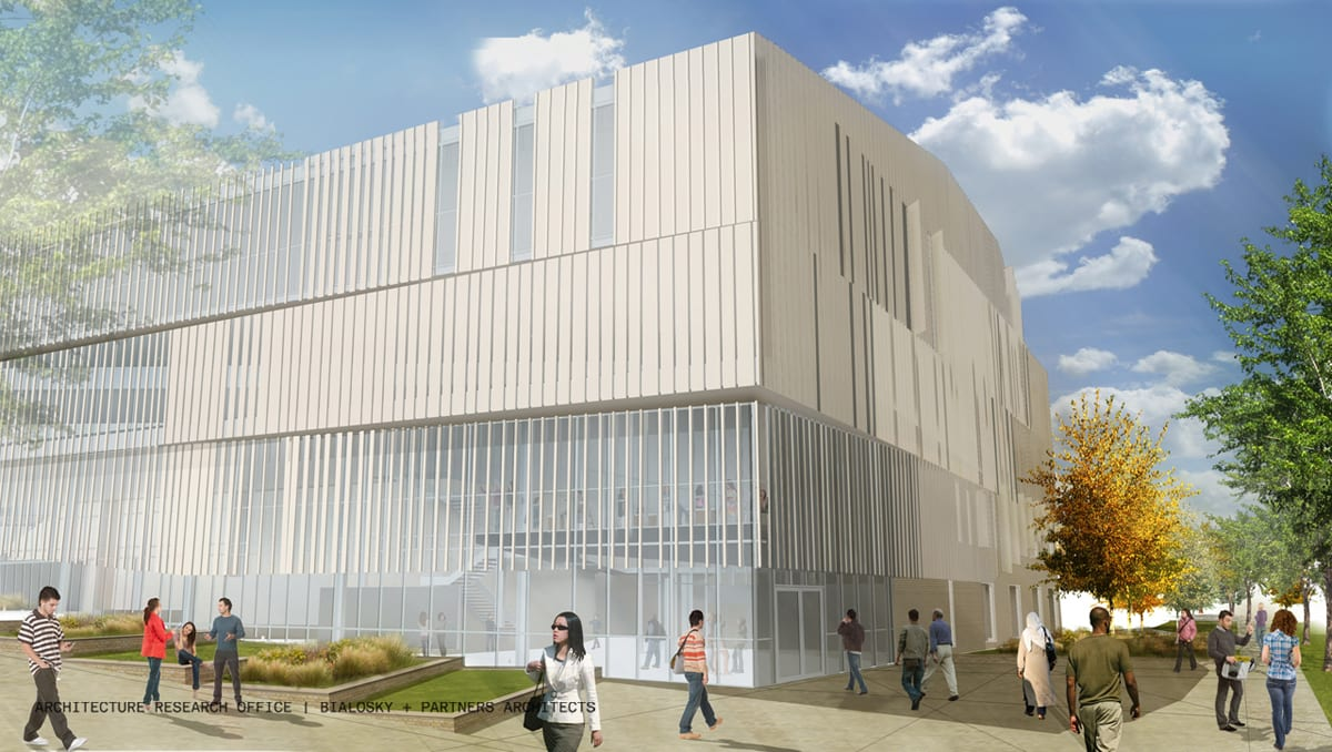 aro-bialosky caed rendering exterior northwest day