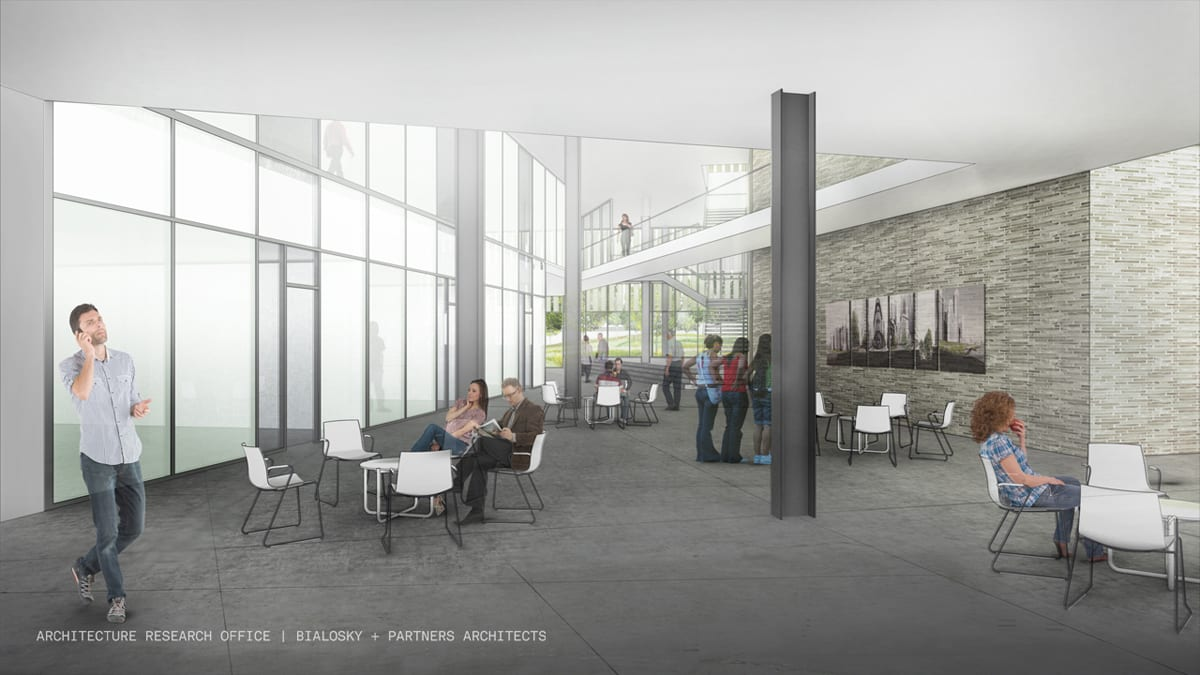 aro-bialosky caed rendering interior commons