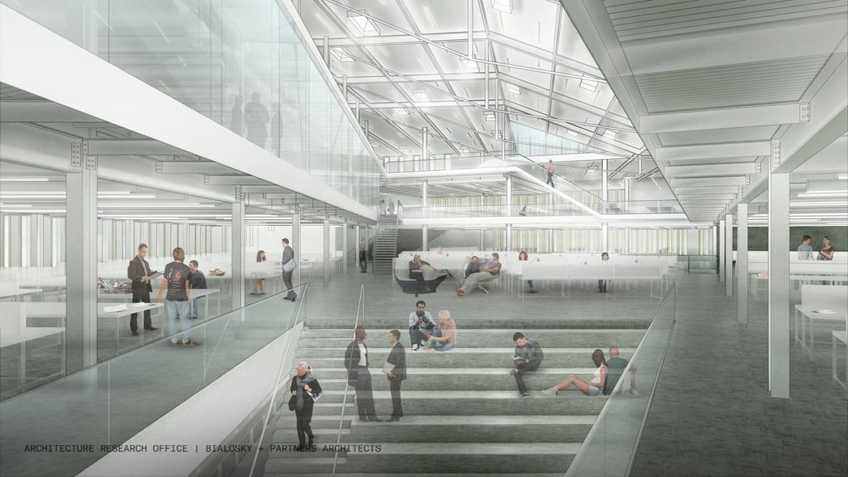aro-bialosky caed rendering interior studio 3rdlevel