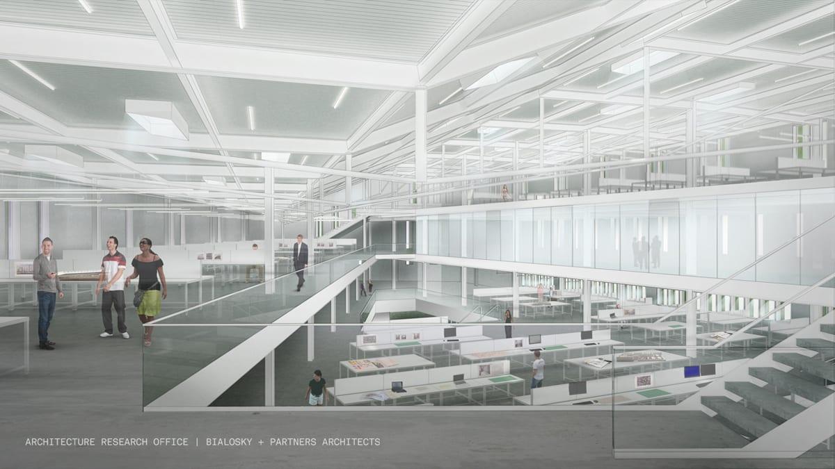 aro-bialosky caed rendering interior studio 4thlevel
