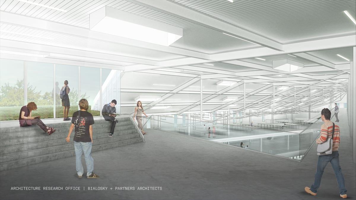 aro-bialosky caed rendering interior studio 5thlevel