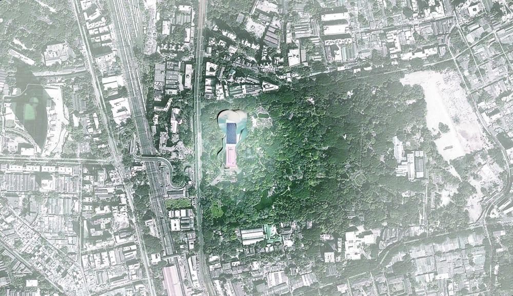 site plan - aerial