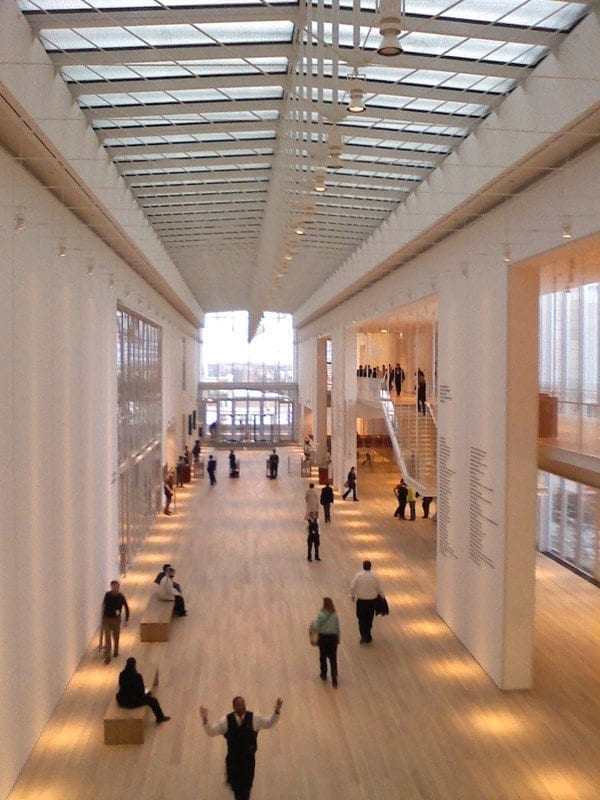 Renzo Piano's addition to the Chicago Art Institute Museum