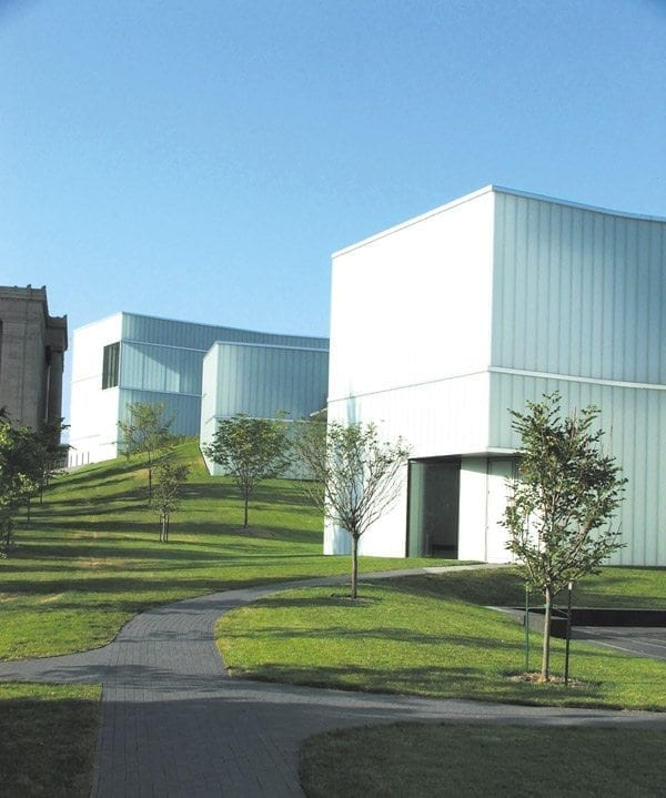 Steven Holl's addition to the Nelson Atkins Museum of Art, Kansas City