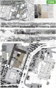 Ideenwettbewerb ãDas Museum des 20. Jahrhunderts und seine stŠdtebauliche EinbindungÒ: Gestaltungskonzept des Siegerentwurfs Tarn-Nr. 1006