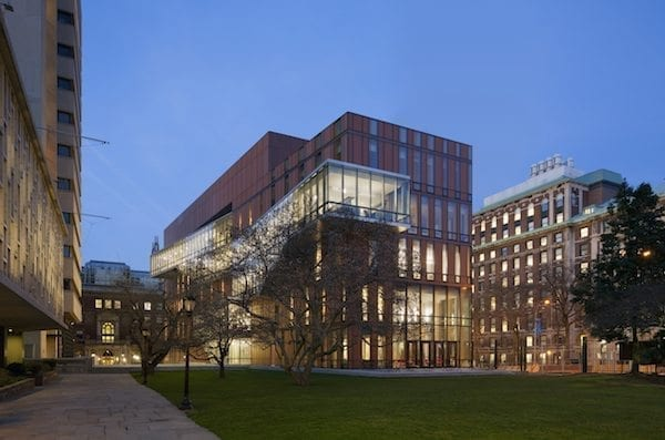 Diana Center at Barnard College, Location: New York NY, Architect: Weiss Manfredi Architects