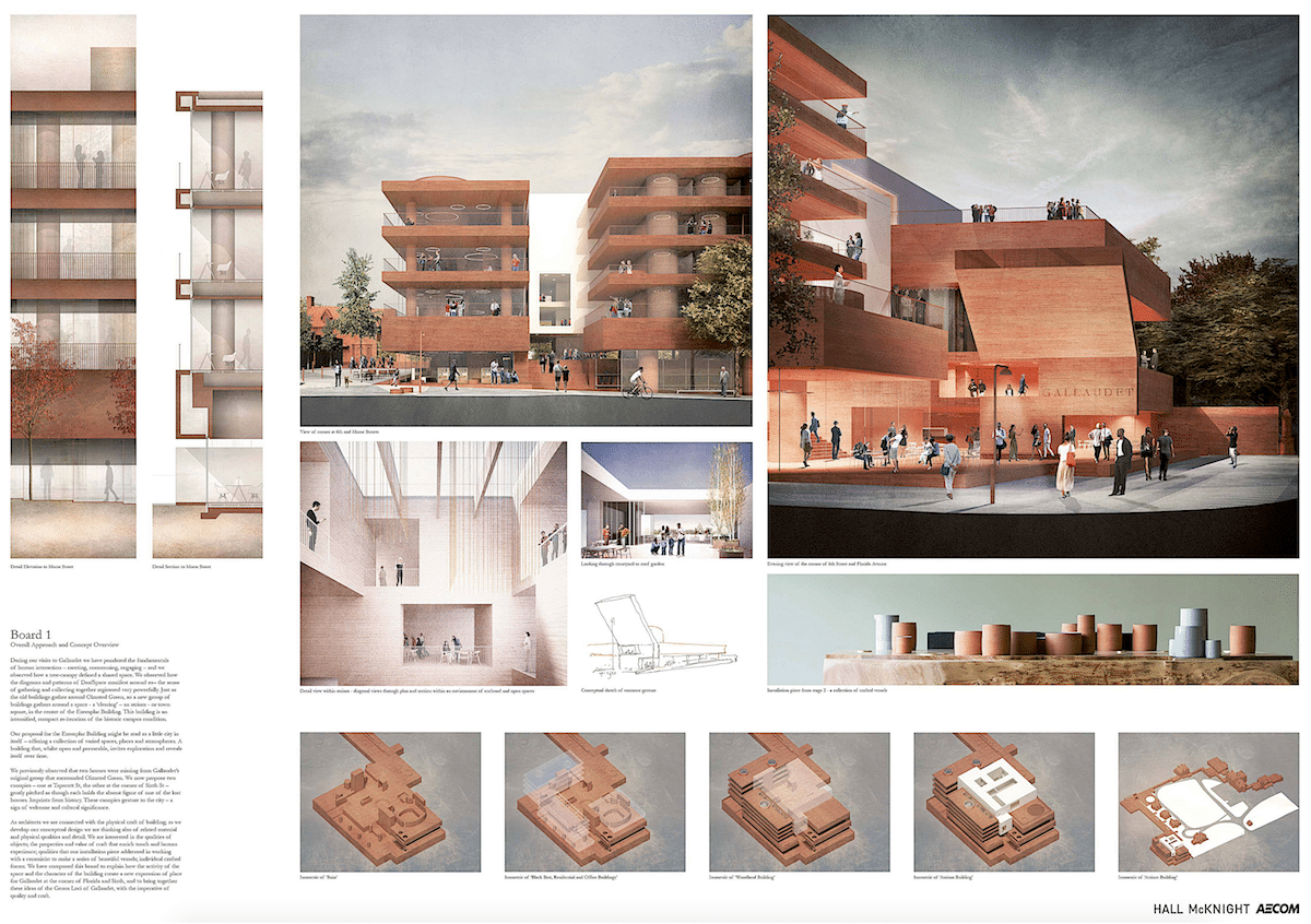 Gallaudet University Design Competition Results Hall Mcknight 1